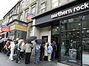 The recent Northern Rock bank collapse in the UK